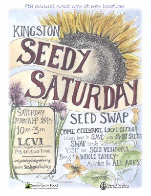 Seedy Saturday 2015 poster