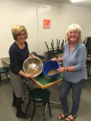 Partnership with Loving Spoonful in Kingston! (In photo:Mara Shaw of the Loving Spoonful and Cathy Christie of KASSI)